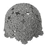 ZLYC - Gorro de punto hecho a mano con diseño de calavera de crochet -  Gris -  Talla única