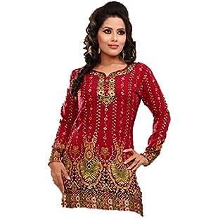 Customer reviews Ladies Designer Tunic Kurti Blouse Top (XX Large (size 16-18)):Viralinfo