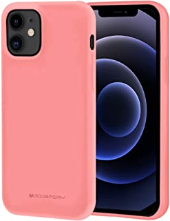 Goospery IP12P-SFJEL-PNK - Carcasa para iPhone 12 Pro, iPhone 12 (6,1 pulgadas), diseño de flamenco