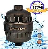 BathBeyond Shower Filter Vitamin C 15 Stage High Output Water Filter...