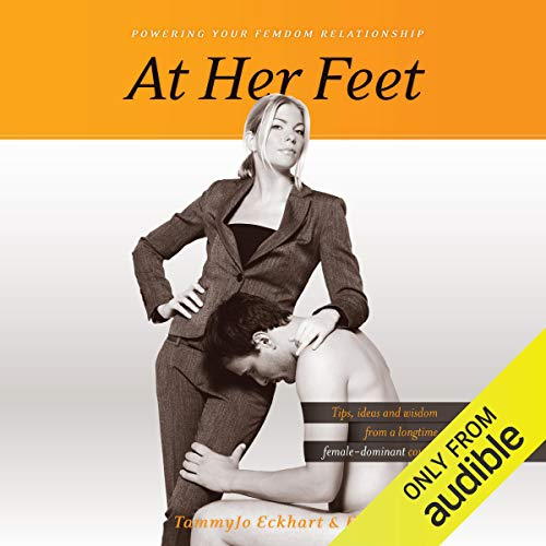 At Her Feet audiobook cover art