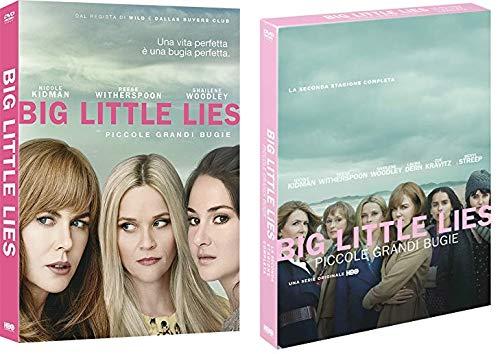 BIG LITTLE LIES - PICCOLE GRANDI BUGIE - STAGIONE 1 E 2 (6 DVD) EDIZIONE ITALIANA