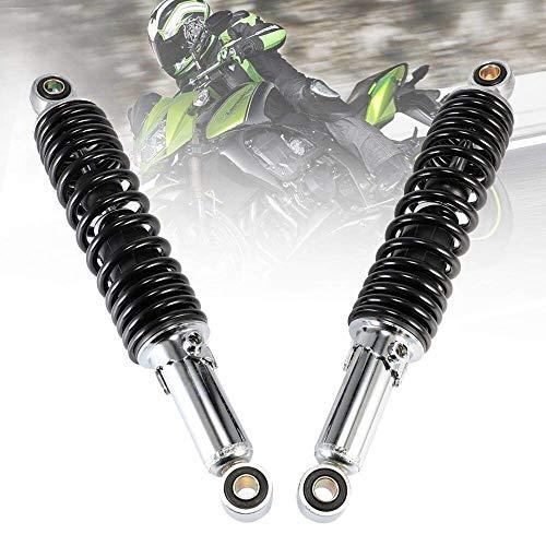 Amortiguador de motocicletas Accesorios para motocicletas universales Aire Trasero Suspensión de 320 mm 12 mm para la suciedad Motores de bicicleta Scooter ATV Quad D4 Motocicleta Absorbero5 Motocicle