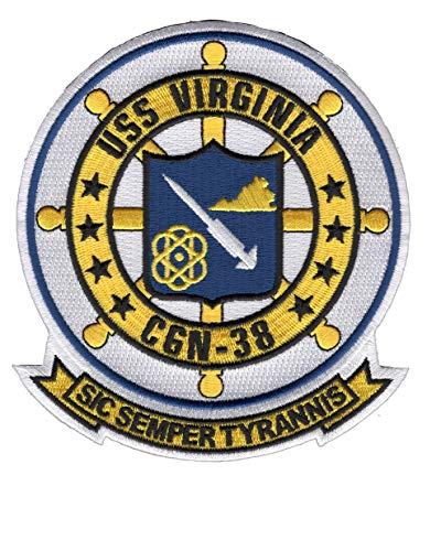 USS Virginia CGN-38 Patch