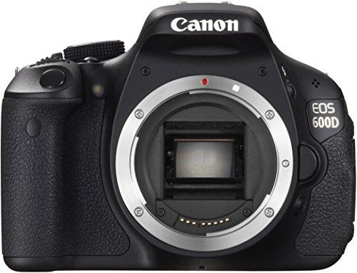 Canon EOS 600D + EF-S 18-55mm Kit fotocamere SLR 18MP CMOS 5184 x 3456Pixel Nero