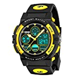 Dreamingbox Birthday Presents Gifts Idea for 5-12 Year Old Boys, LED 50M Waterproof Digital Sport Watches for Kids Cool Toys for 5-12 Year Old Boys Analog Watch for Girls 7-10 Easter Gifts for Kids
