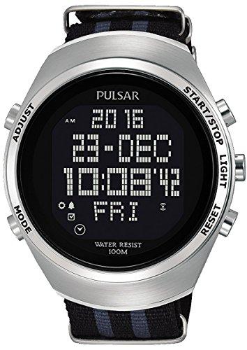Pulsar x orologio Uomo Digitale Al quarzo con cinturino in Nylon PQ2059X1
