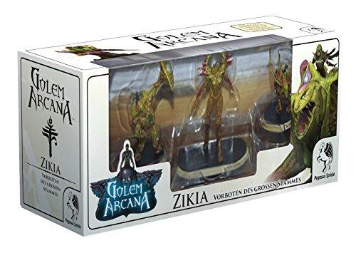 Pegasus Spiele 58001G - Golem Arcana Zikia - Vorboten des großen Stammes