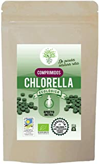 Chlorella ecológica 100% pura en comprimidos | de pared celular rota | calidad Premium garantizada | 200 comprimidos