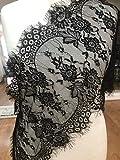 Chantilly ALE10 Braut-/Hochzeitskleid, Blumenmuster, Stoff,