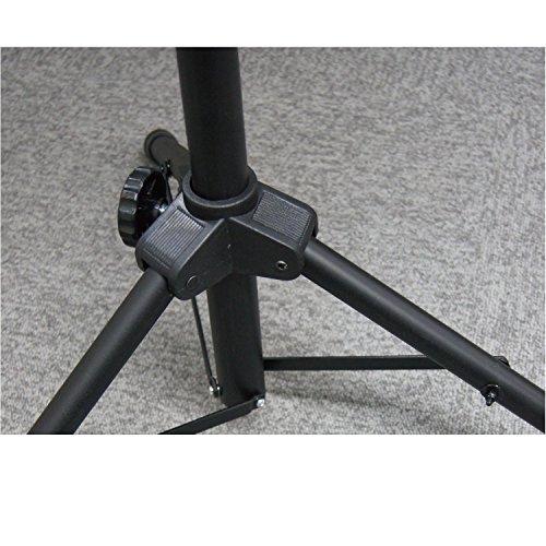 キクタニ角度調節も行えるミニキーボード用キーボードスタンドKS-203ブラック