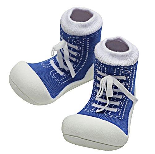 Attipas , {Chaussures premiers pas pour bébé (garçon) Bleu Bleu 21.5 - Bleu - Bleu, 21.5 EU