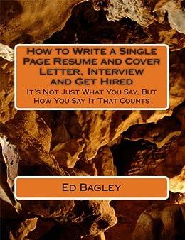 ed bagley resume