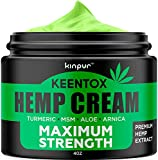 Best Creams For Arthritis - Hemp Pain Relief Cream - Relieves Muscle, Joint Review