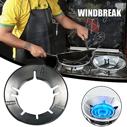 Baishi Ahorro de energía a prueba de viento universal estufa de gas cubierta a prueba de viento disco redondo ahorro de energía cubierta para accesorios de cocina