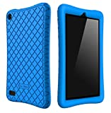 Bear Motion Silicone Case for All-New Fire 7 Tablet with Alexa - Anti Slip Shockproof Light Weight Kids Friendly...