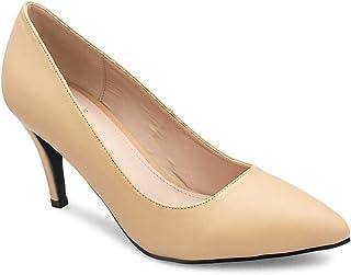 tresmode Women's Tan Pump Sandals