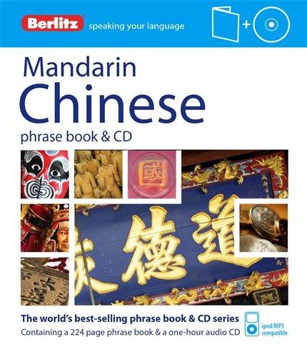Berlitz Mandarin Chinese Phrase Book & CD (English and Chinese Edition)