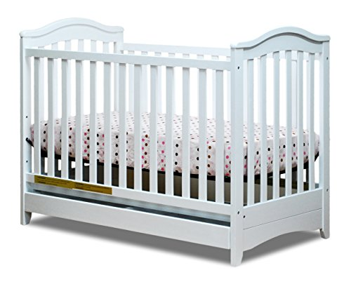 Learn More About Athena Jeanie 3-in-1 Convertible Crib, White