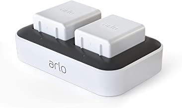 Arlo Accessory - Dual Charging Station | Charge up to Two Batteries | Compatible with Arlo Ultra Only |(VMA5400C)