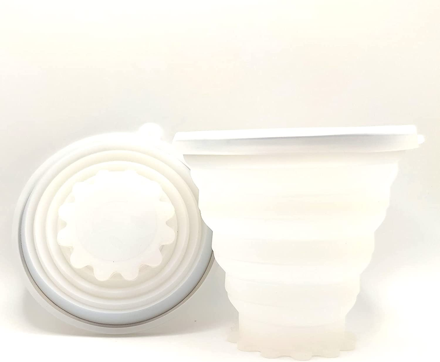 Chicago Mall Silicone Collapsible Milwaukee Mall Travel Cup with Li