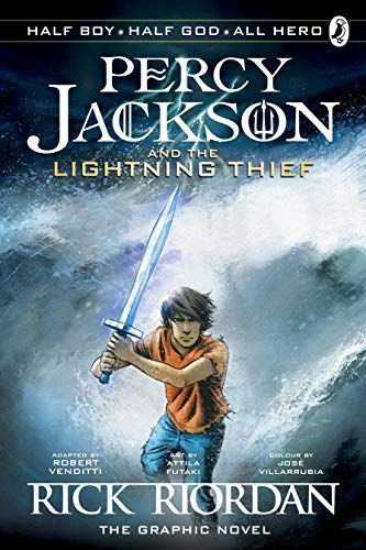 Percy Jackson and the Lightning Thief - The Graphic Novel (Book 1 of Percy Jackson) (Percy Jackson Graphic Novels, Band 1)