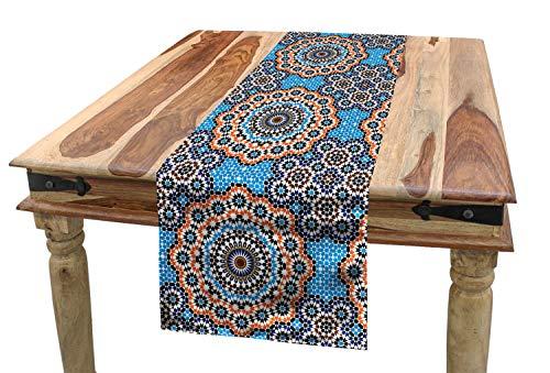 ABAKUHAUS Clásico Camino de Mesa, Baldosa cerámica marroqu