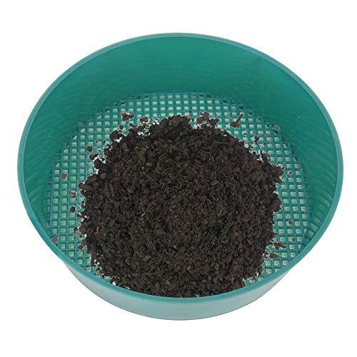 AMONIDA Tamiz de Filtro, 4 Piezas de Material PP Malla Uniforme para tamizar Piedra y Arena Fácil de Limpiar y almacenar 6.2 x 6.2 x 2 Pulgadas Tamiz de jardinería para Parque