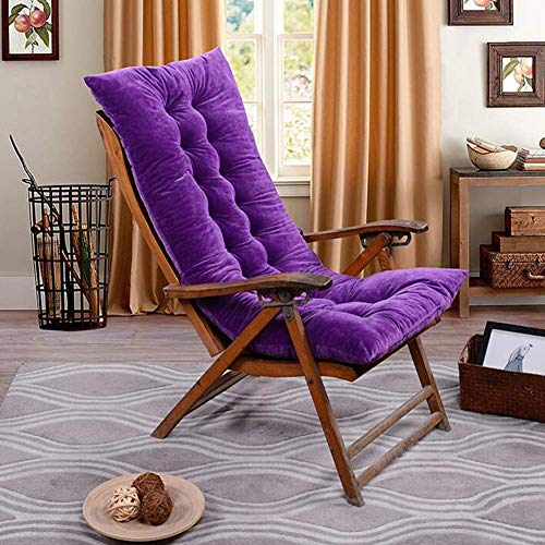 Shelves Square Seat Pad Rocking Chair Cushions,Sun Lounger Cushions, Garden Furniture Cushions - Portable Garden Patio Thick Padded Bed Recliner Relaxer Chair Seat Cover For Travel/Holiday/Indoor/Outd