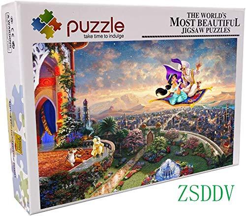 Lv5Panel Puzzles-Juego De Rompecabezas De Madera De 1000 Piezas para Adultos Niños...