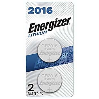 Energizer Lithium Coin Watch/Electronic Battery 2016 2-Count