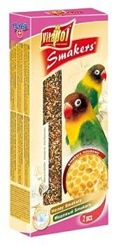 Vitapol Smakers bâton pour friandises pour inséparables Miel avec 2clés