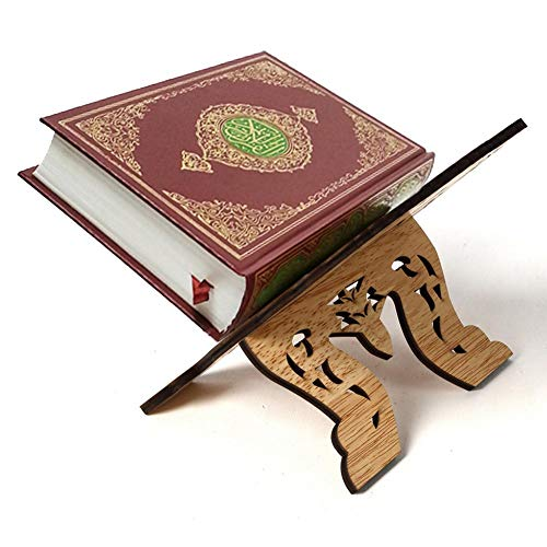 Bücherstandhalter Kuran Quran Koran Holy Wooden Rehal Islam Home Decoration