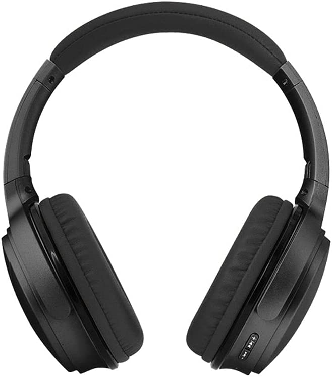 QAZ Headphones with NEW Mic Soft Earmuffs Foldable Max 85% OFF Memory-Protein