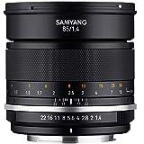 Samyang - Objetivo para cámara, 85 mm F1.4 MK2 Nikon Ae