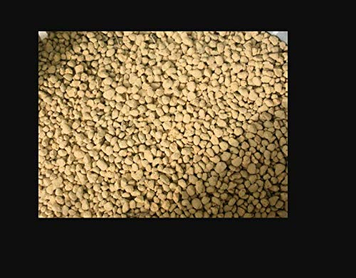 Japanese Kiryu Soil for Junipers Bonsai - Small Grain Particles are Approximately from 3 mm~7 mm Get 2.5 Quart - Bonsai Tools #TSB01YN
