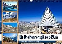 Die Dreiherrenspitze 3499m (Wandkalender 2022 DIN A3 quer): Impressionen von der Dreiherrenspitze im westlichen Tauernhauptkamm (Monatskalender, 14 Seiten )