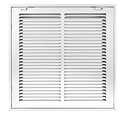 Accord Return Filter Grille with 1/2-Inch Fin Louvered