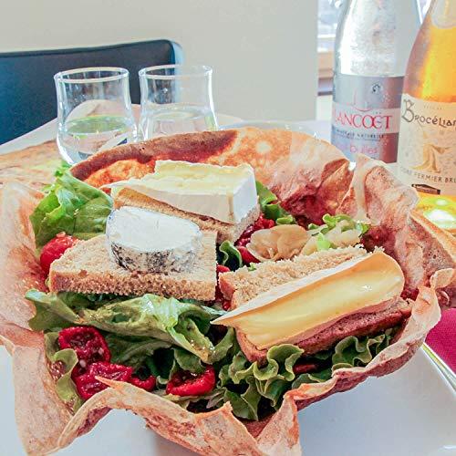Smartbox - Coffret Cadeau Femme Homme - Un goût de Bretagne : Crêpes pour 2 - idée Cadeau - 1 délicieux Repas pour 2 de crêpes Classiques au froment ou galettes de Sarrasin gourmandes
