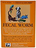 FECAL Worm Test for All Types of Pets(Dogs, Cats, Birds, Reptiles, Rabbits, Lions, Turtles)(Just Collect Sample and Mail to Our Vet Lab), 8' (h) x 6' (w) x 0. 25 (deep), 6800012