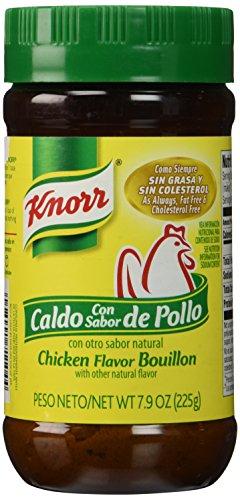 Knorr Bouillon Caldo Con Sabor De Pollo Chicken Flavor Bouillon 7.9 Ounces