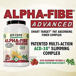 Alpha-Fibe Advanced ACD-3X Smart Weight Loss Slimming Complex for Men & Women (180 Fast-Acting Capsules) by Bio-Form Essentials