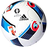 adidas Replique UEFA Euro 2016 Balón de fútbol, Color Blanco - White/Bright Blue/Night...