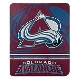NHL Colorado Avalanche 'Fade Away' Fleece Throw Blanket, 50' x 60'
