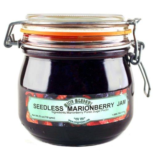 Misty Meadows Seedless Marionberry Jam Crock 25 oz.