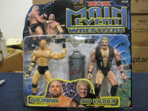 WCW Main Event Wrestlers by Toybiz 2000