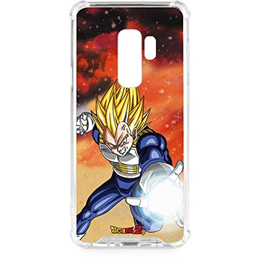 Skinit Dragon Ball Z Vegeta Galaxy S9 Plus Clear Case - Dragon Ball Z - Skinit Clear Case - Transparent Galaxy S9 Plus Cover