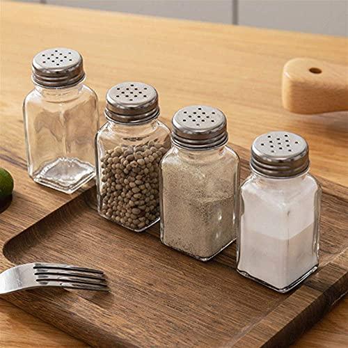 Spice Opslag Spice Jar Creature Dispenser Glas Kruidenfles Zout en Pepper Shakers Set Spice Container…