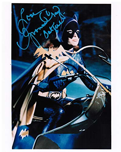 Yvonne Craig as Batgirl Genuine Autograph from the Batman '66 TV Show Signed 8' x 10' Autographed Photo D