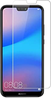 Compatible for Huawei P20 Lite Screen Protector (2-Pack), Not Full Coverage, HD Clear Protective Film Shield Screen Protec...
